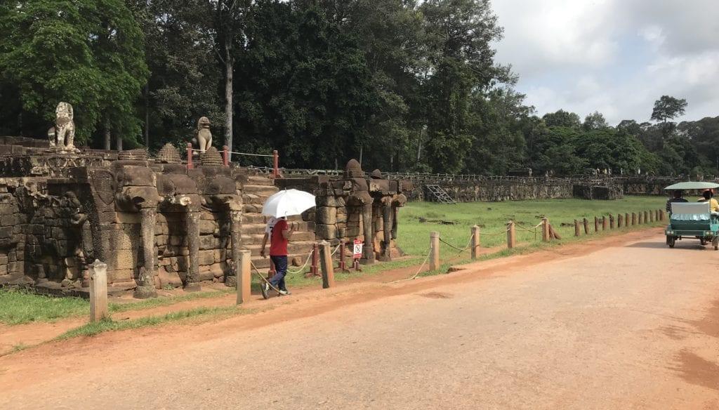 Elephantenterrassen Kamboscha