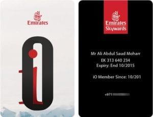 Emirates IO Status