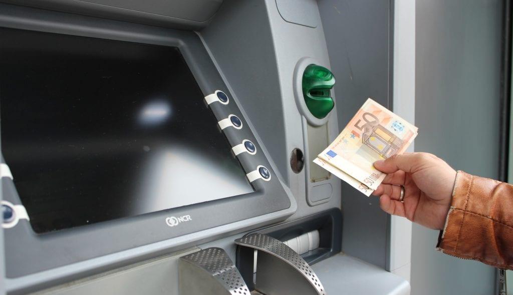 Fidor SmartCard Bargeld abheben