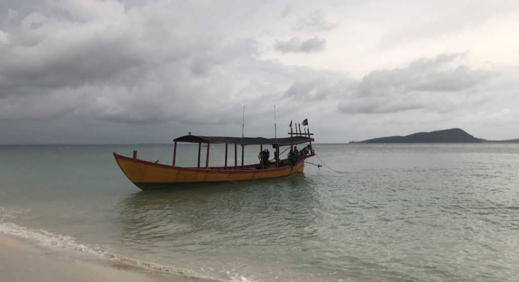 Koh Rong Boot Abholung