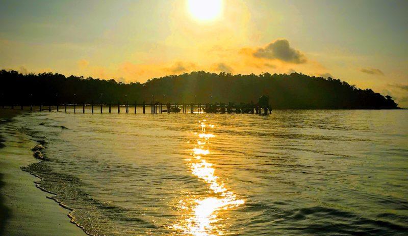 Koh Rong Strand Sonnenuntergang