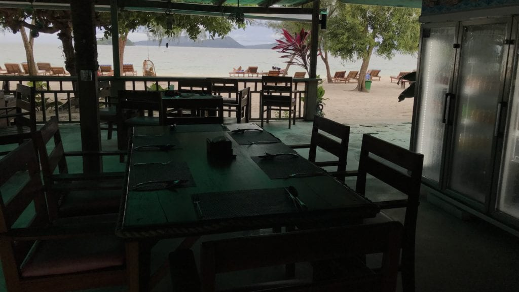 Long Set Resort Koh Rong Restaurant View