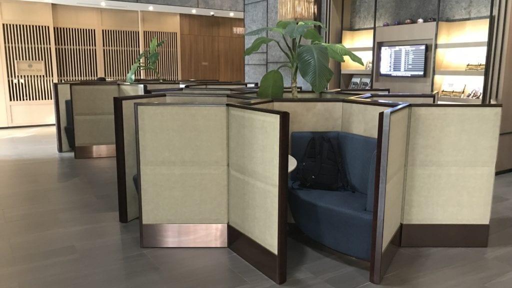 Plaza Premium Lounge Siem Reap Arbeitsplätze