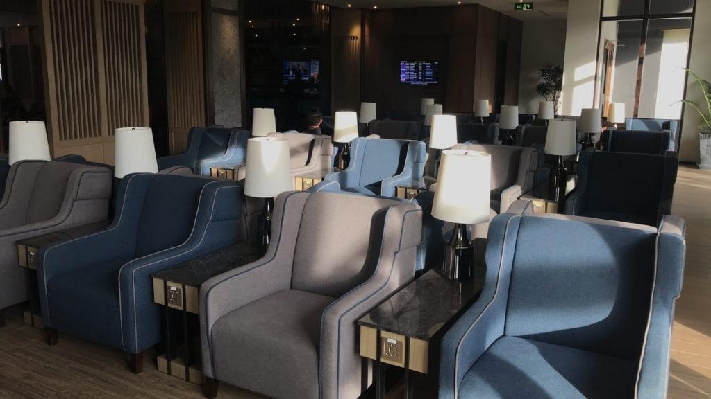 Plaza Premium Lounge Siem Reap Sitzgelegenheiten