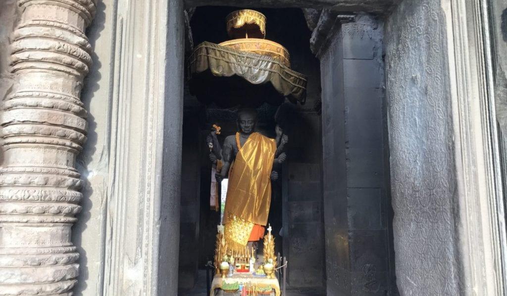 Schrein Angkor Wat Kambodscha