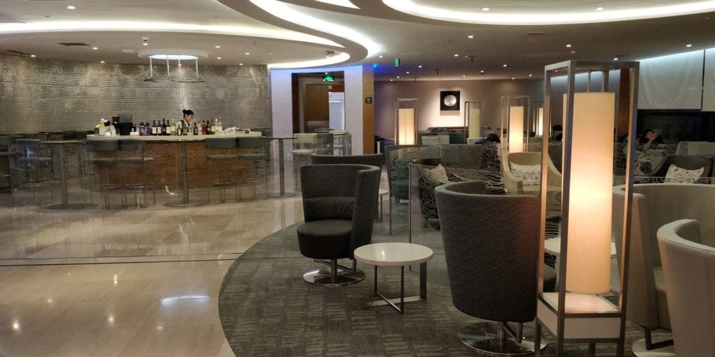 Air China Business Class Lounge Shanghai Pudong 2