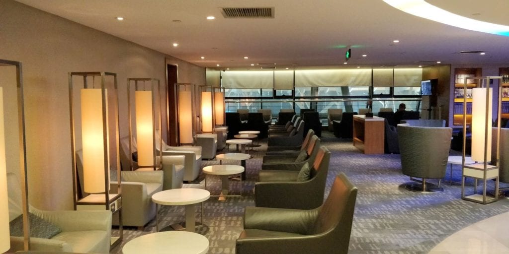 Air China Business Class Lounge Shanghai Pudong 5