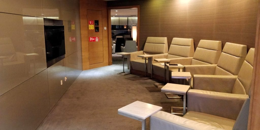 Air China Business Class Lounge Shanghai Pudong 6