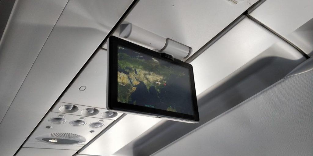 Air China Economy Class Kurzstrecke Entertainment