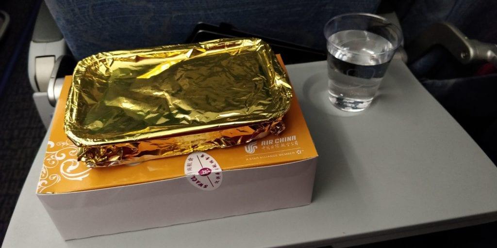 Air China Economy Class Kurzstrecke Essen
