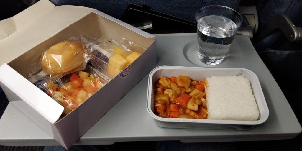 Air China Economy Class Kurzstrecke Essen 2