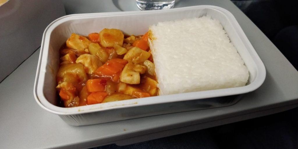 Air China Economy Class Kurzstrecke Essen 3
