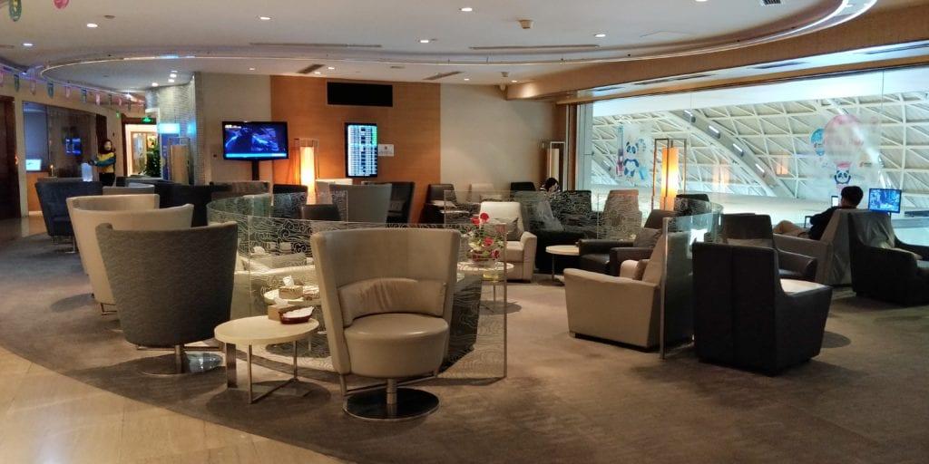 Air China Lounge Chengdu 2
