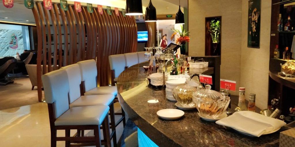 Air China Lounge Chengdu Bar 2