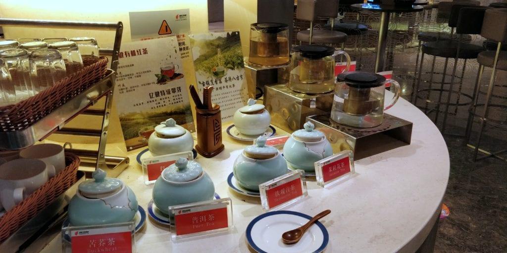 Air China Lounge Chengdu Buffet