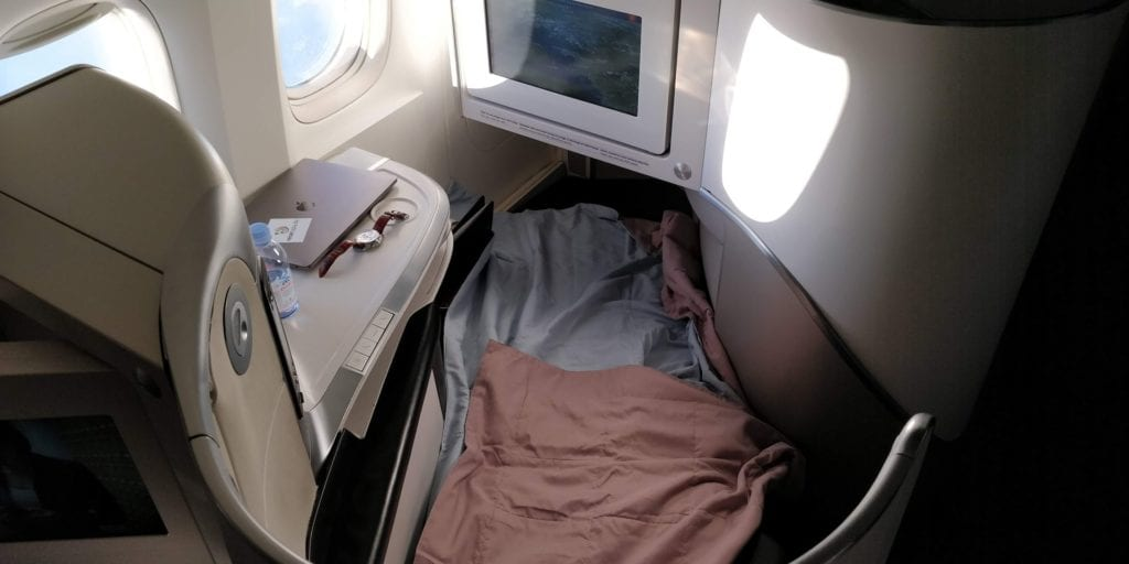 Air France Business Class Boeing 777 Bett