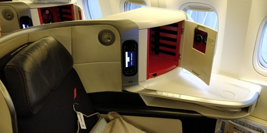 Air France Business Class Boeing 777 Sitz 2