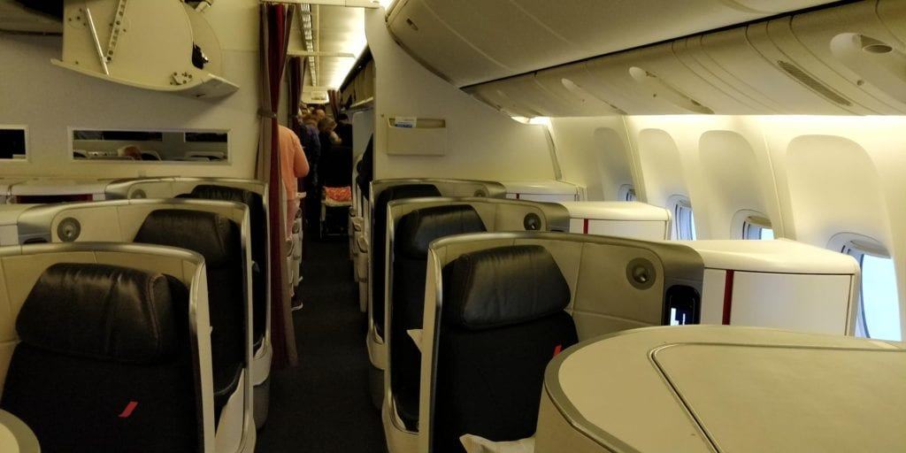 Air France Business Class Boeing 777 Sitz 3