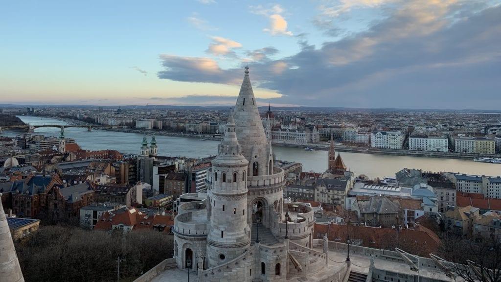 Aussicht Hilton Budapest
