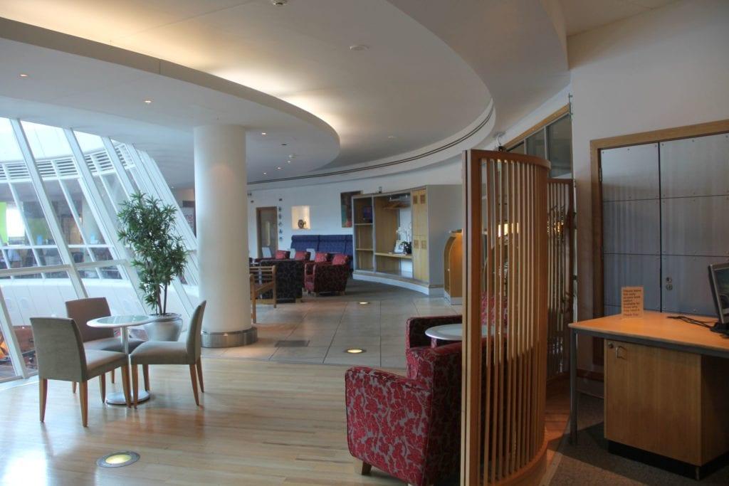 British Airways Lounge Manchester