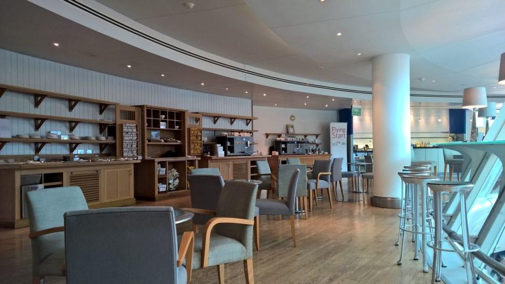 British Airways Lounge Manchester 2