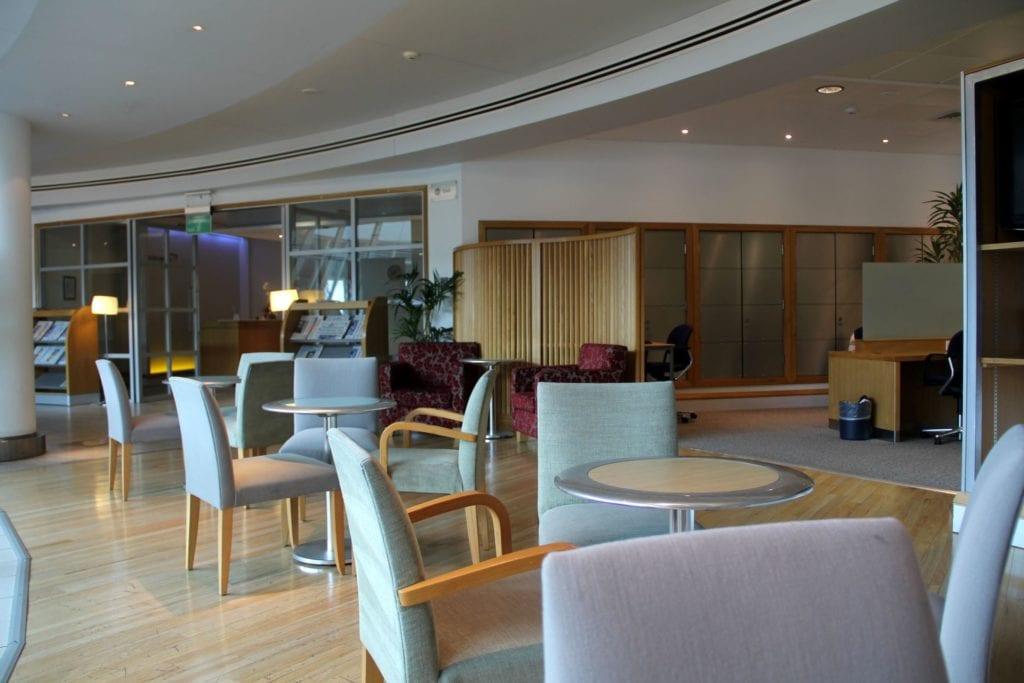 British Airways Lounge Manchester 3