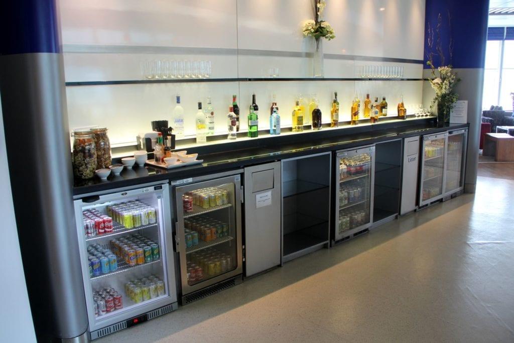 British Airways Lounge Manchester Buffet 3