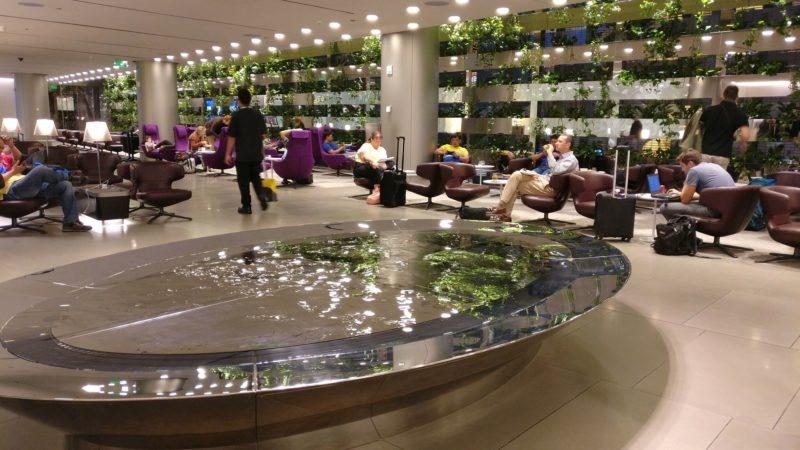 Business Class Lounge Doha