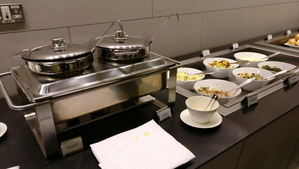 Business Class Lounge Doha Buffet