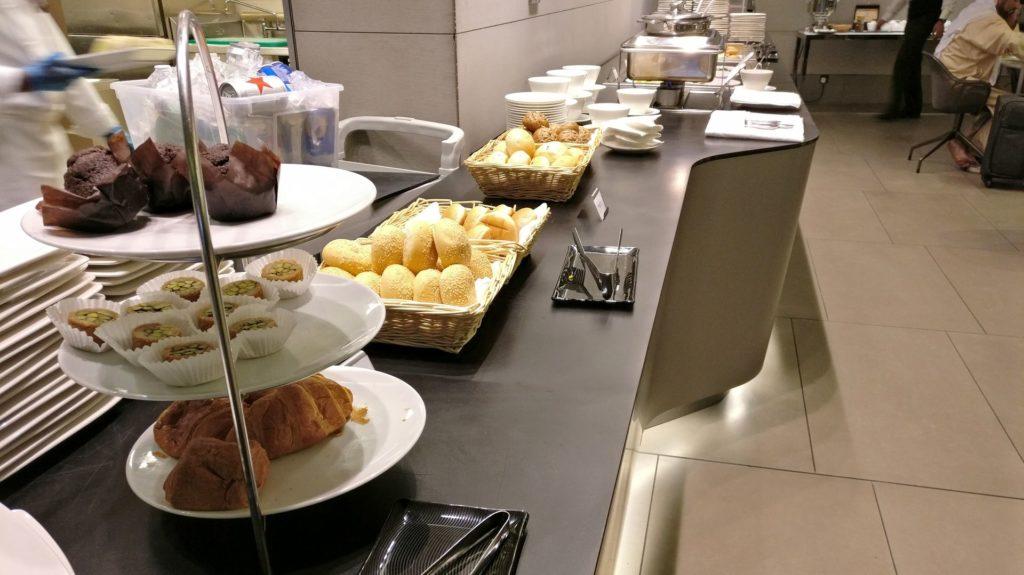 Business Class Lounge Doha Buffet 3