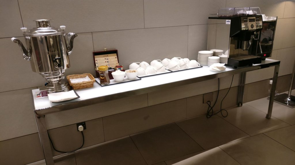 Business Class Lounge Doha Buffet 4