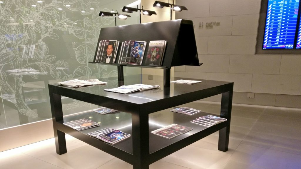 Business Class Lounge Doha Magazine
