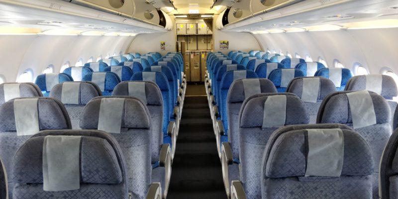 Cathay Dragon Economy Class Kabine
