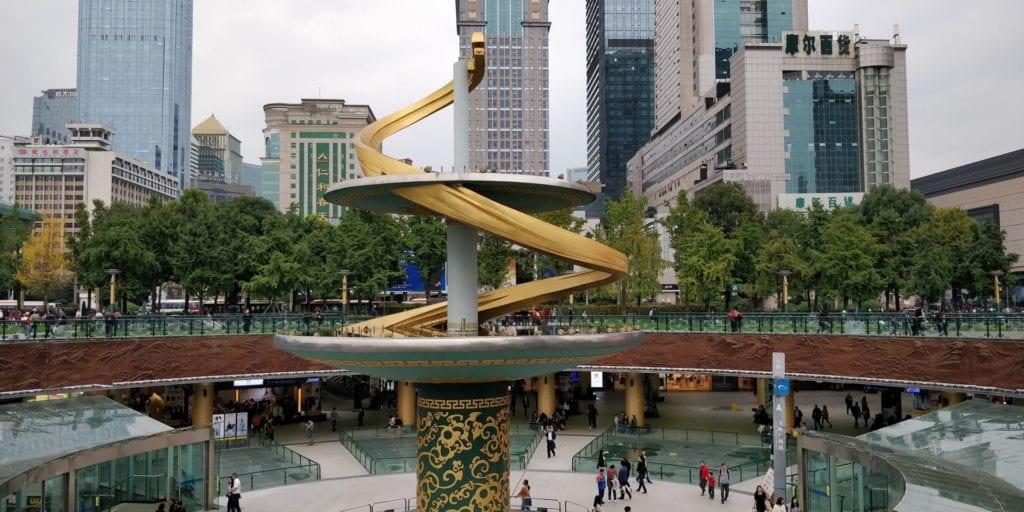 Chengdu Tianfu Platz 2