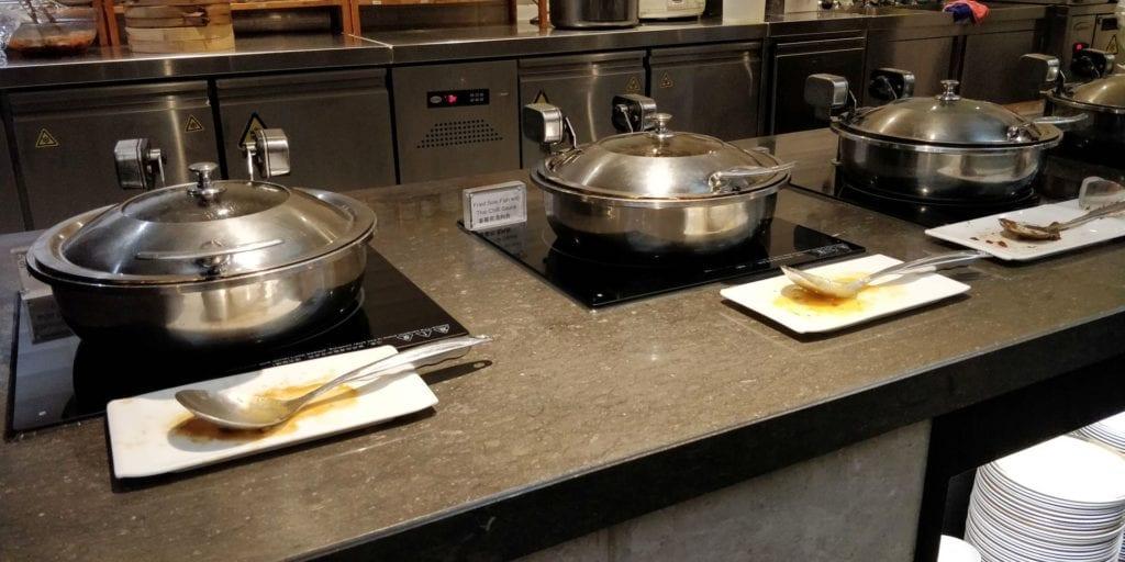 China Eastern Plaza Premium Lounge Shanghai Pudong Buffet 3