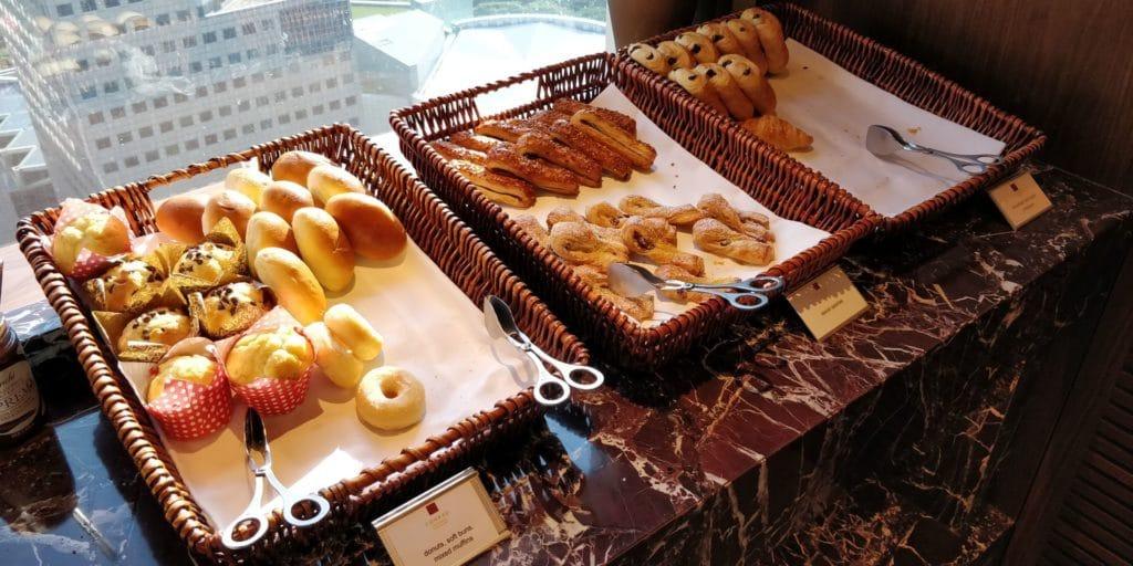 Conrad Singapur Executive Lounge Frühstück 6