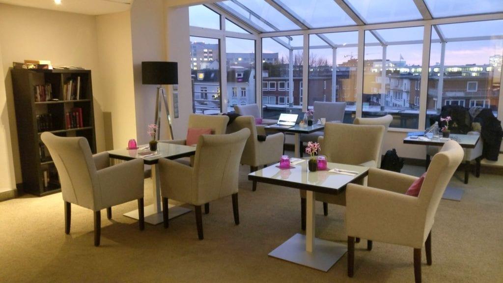 Crowne Plaza Hamburg City Center Club Lounge