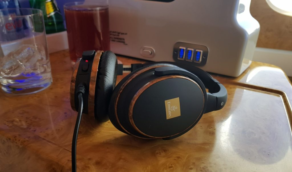 Emirates Business Class Airbus A380 Headset