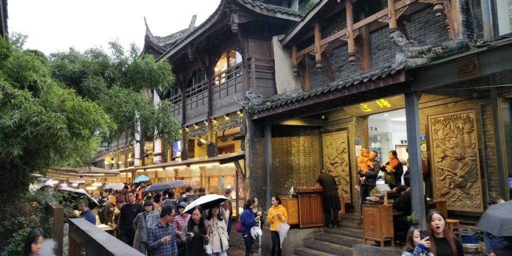 Enge Und Weite Gasse Chengdu 2