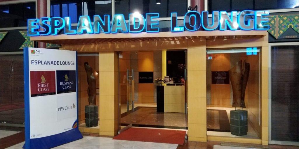 Esplanade Lounge Jakarta Eingang