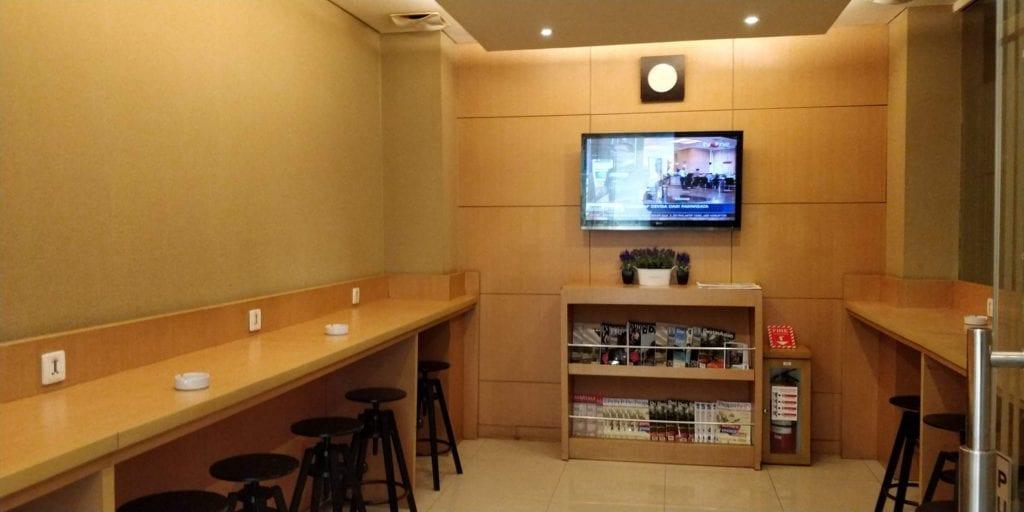Esplanade Lounge Jakarta Layout 1