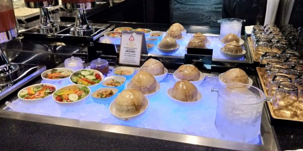 Eva Air Lounge Bangkok Buffet 3