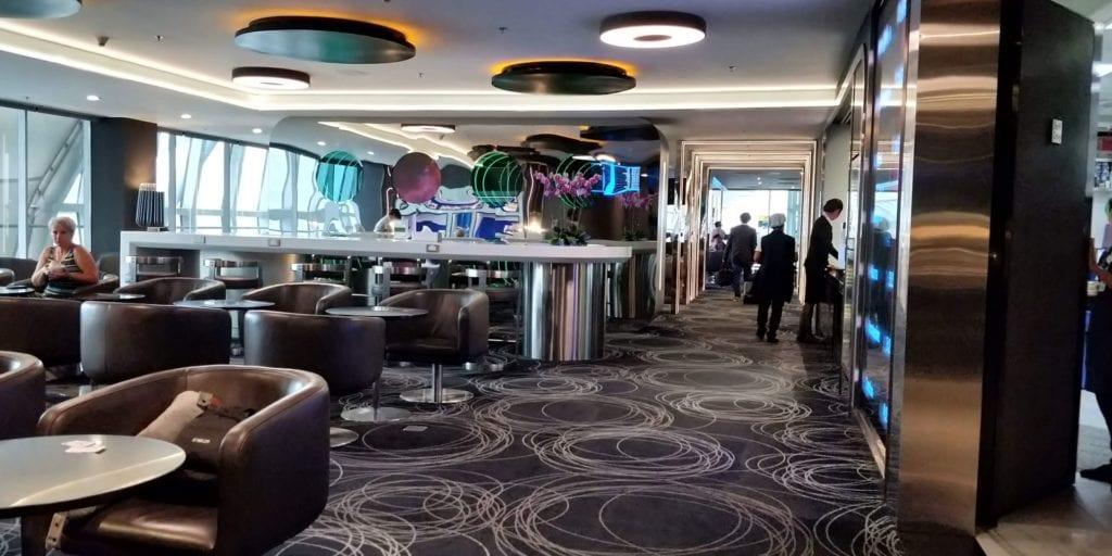 Eva Air Lounge Bangkok Layout 1