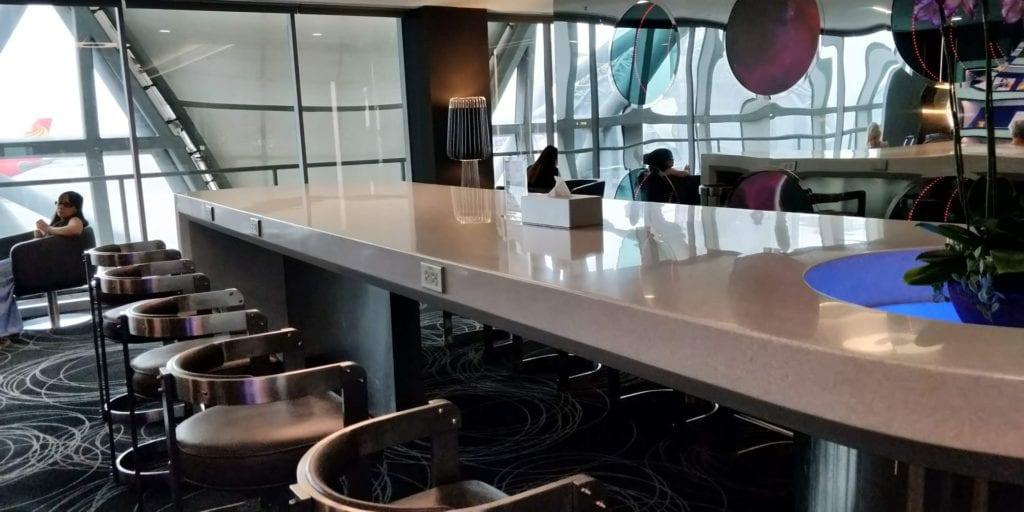 Eva Air Lounge Bangkok Layout 2