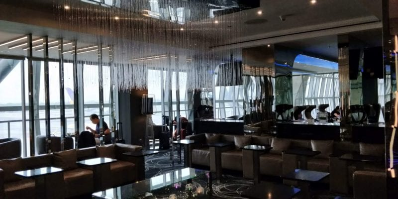 Eva Air Lounge Bangkok Layout 3