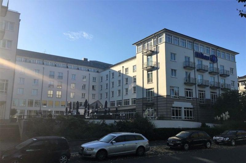 Hilton Bonn Außenansicht 3