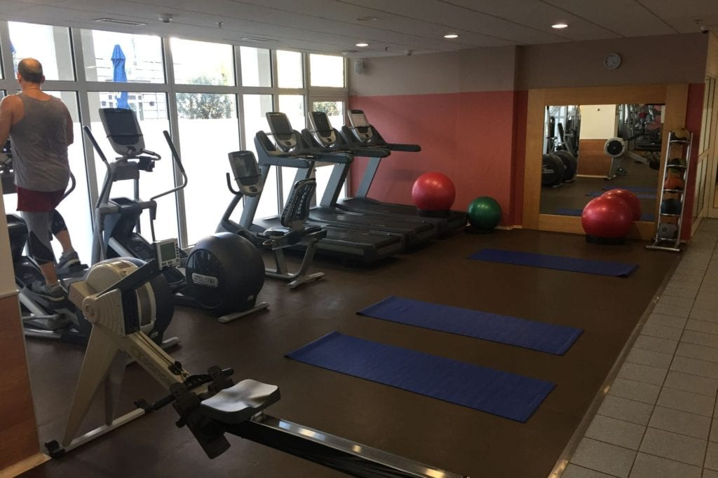 Hilton Bonn Fitness 1