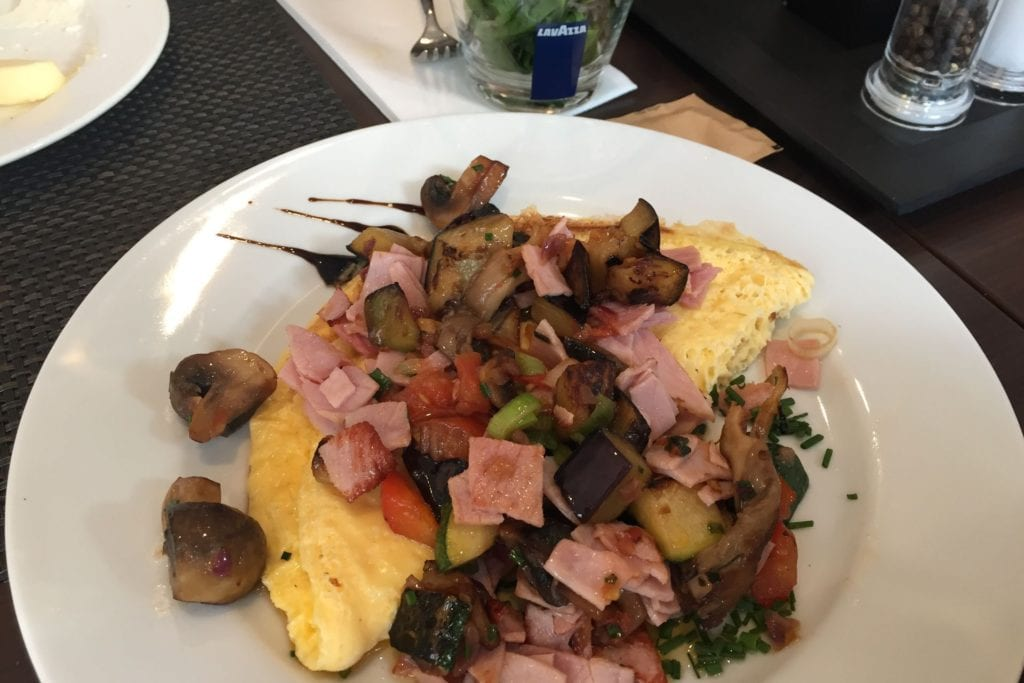 Hilton Bonn Frühstück Omelette