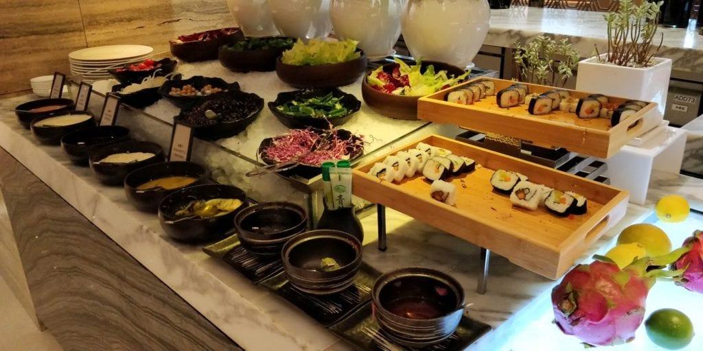 Hilton Chengdu Frühstück 7
