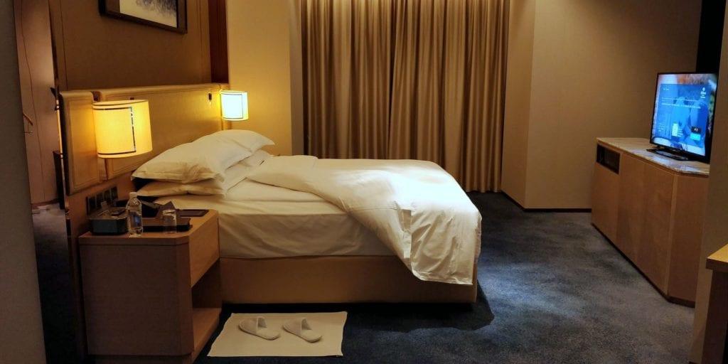 Hilton Chengdu Zimmer